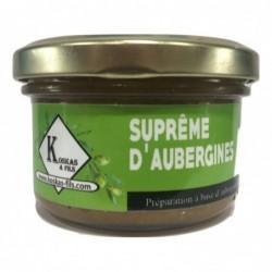 Supreme d'aubergines